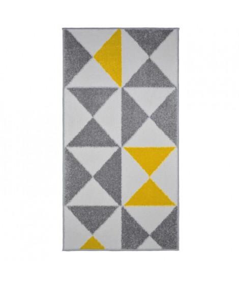 FORSA Tapis de couloir en polypropylene - 60 x 110 cm - Jaune