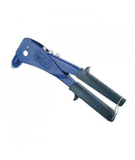 MANNESMANN Pince a riveter professionnelle - Ø 2,4 / 3,2 / 4,8 mm - Bleu