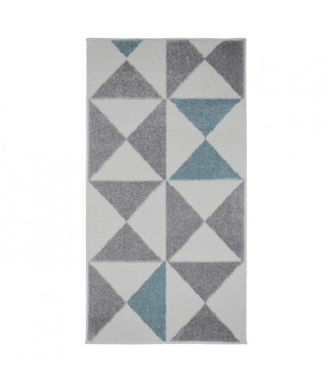 FORSA Tapis de couloir en polypropylene - 80 x 150 cm - Bleu