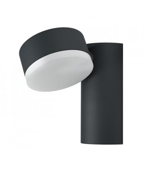 OSRAM Spot applique extérieur Endura Style - 8 W - Rond - Gris chaud