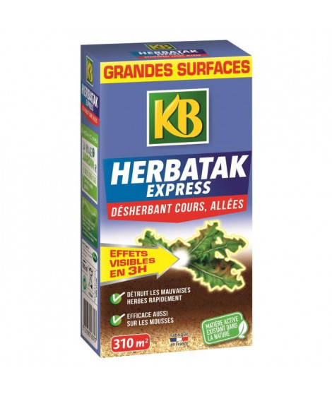 KB Désherbant Herbatak Express concentré - 700 ml