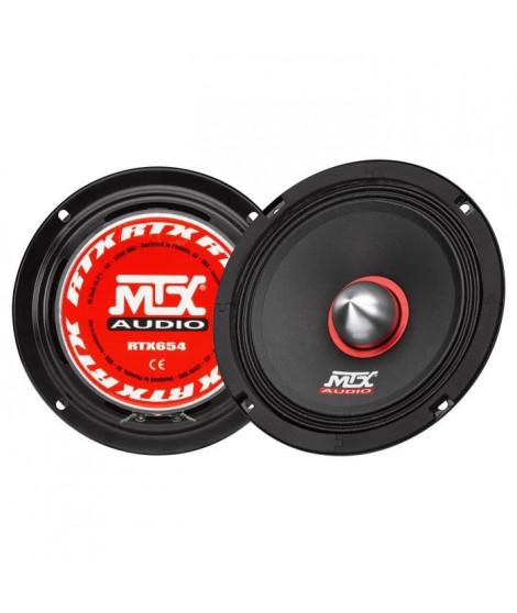 MTX Haut-parleur me?dium haute efficacite? RTX654 - 16,5 cm - 125W