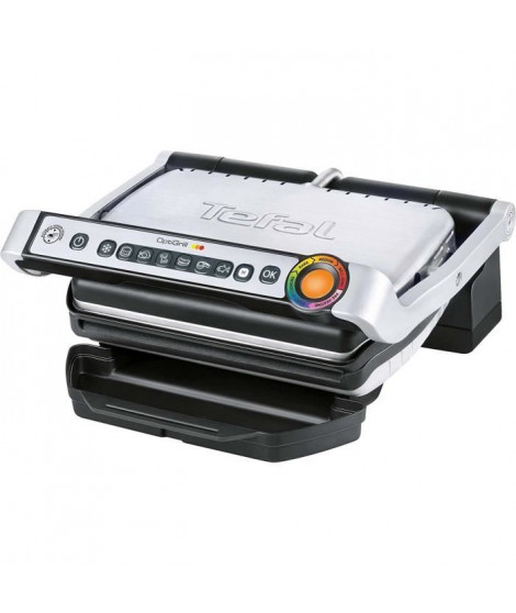 TEFAL GC702D16 Grill électrique Opti Grill - Inox