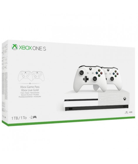 Xbox One S 1To 2 manettes