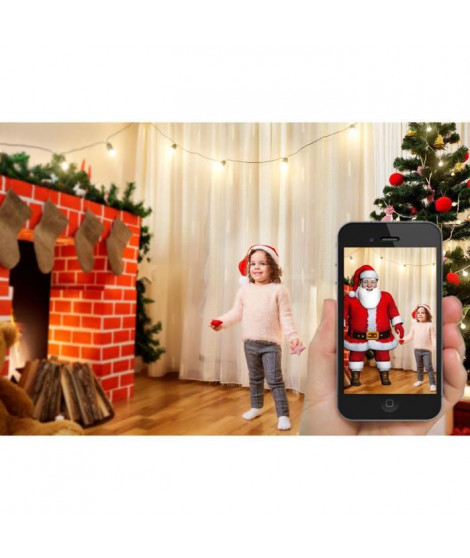 LEALIGHT Guirlande Realité Augmentée Blachere 31 V - L 12m - 200 LED multicolore