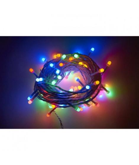Guirlande extérieure Cosmo - 80 LED multicolore - 10 m