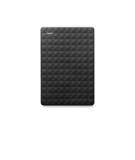 SEAGATE Disque dur externe Expansion portable STEA2000400 - USB 3.0 - 2TB - Noir