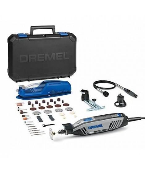 DREMEL Outil multi-usage - 4300-3/45 - 3 adaptations - 45 accessoires - 200 W