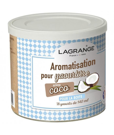 LAGRANGE Aromatisation coco pour yaourts