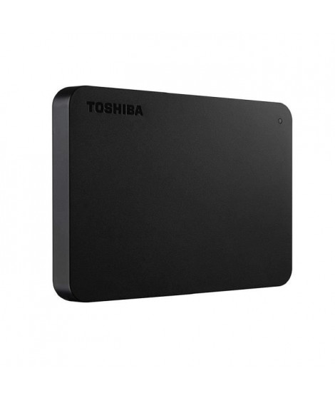 TOSHIBA Disque dur Canvio basics - 1 To - USB 3.0 - Noir