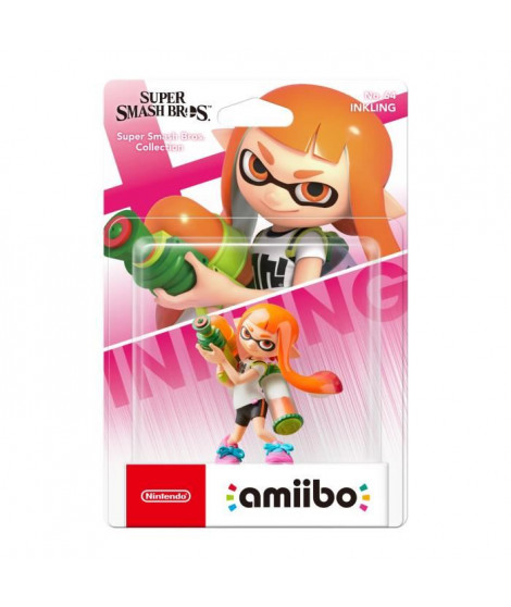 Amiibo Collection Super Smash Bros - Fille Inkling