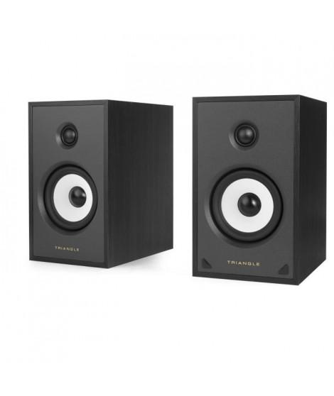 TRIANGLE SENSA SN03A Noir -  Paire Enceintes actives - Bluetooth Aptx - Amplification 2 x 50 Watts
