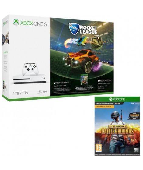 Xbox One S 1 To Rocket League + PUBG