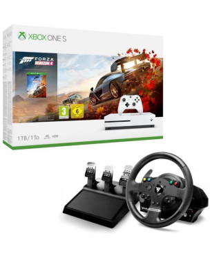 Xbox One S 1 To Forza Horizon 4 + Volant TMX Pro Thrustmaster