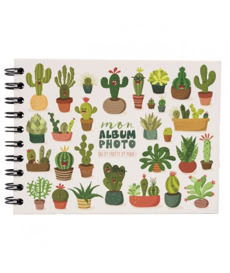 PANODIA Album photo Cactus - 30 pages - Collection Artist - 19 x 13 cm