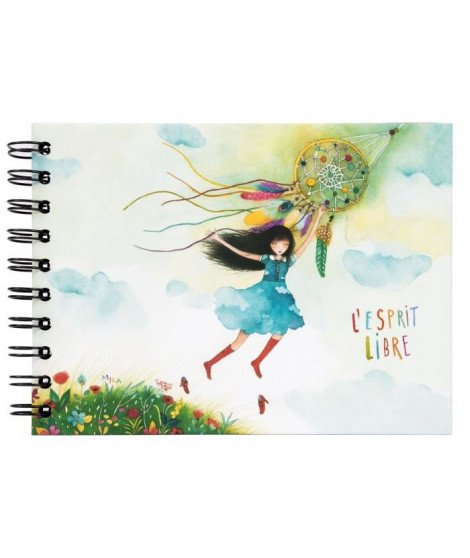 PANODIA Album photo Esprit Libre - 30 pages - Collection Artist - 19 x 13 cm