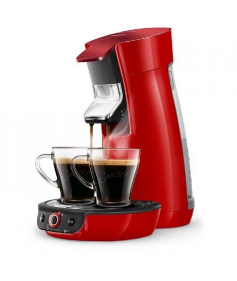 SENSEO HD6564/81 Machine a café a dosette Viva Duo Select - Rouge