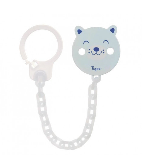 TIGEX Attache-sucette Chainette Universel Ours