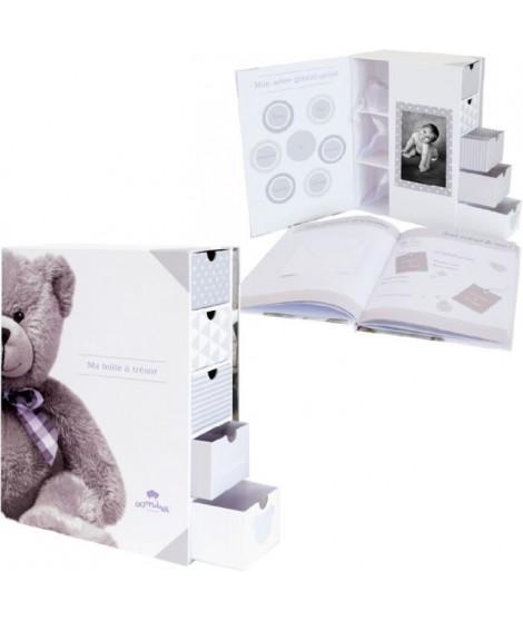 DOMIVA Boîte a trésors et livre de naissance Little Bear