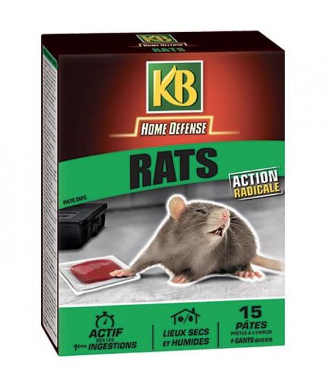 KB Raticide en pâtes prets a l'emploi - 150 g