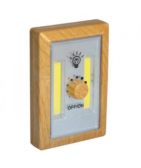 Veilleuse LED HESTEC - Variateur bois