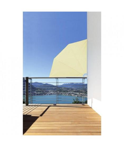 IDEALGARDEN Rideau de balcon amovible - 1,5 x 1,5 m - Beige