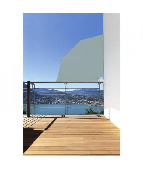 IDEALGARDEN Rideau de balcon amovible - 1,5 x 1,5 m - Gris