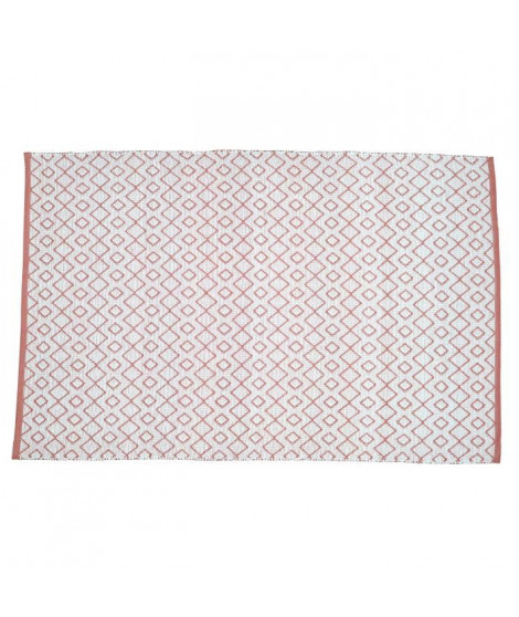 SOLYS Tapis d'extérieur - PVC - 120 x 180 cm - Marron safran