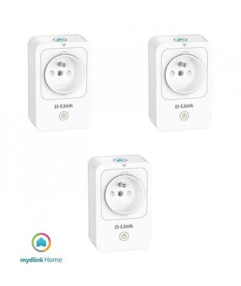 Mydlink Home Pack de 3 Prises intelligentes DSP-W215/FR