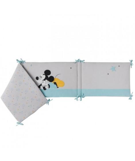 DISNEY Tour de lit adaptable Mickey My Story - Velours 100% polyester - 40 x 180 cm