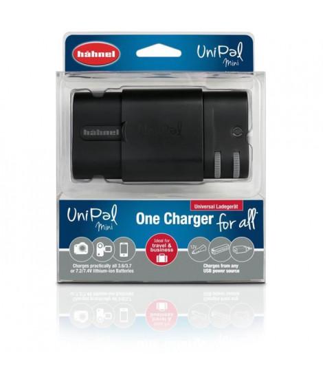HAHNEL HLUNIPALMINI Chargeur UniPal Mini compatible avec les batteries Li-Ion 3,6 V, 3,7 V, 7,2 V et 7,4 V