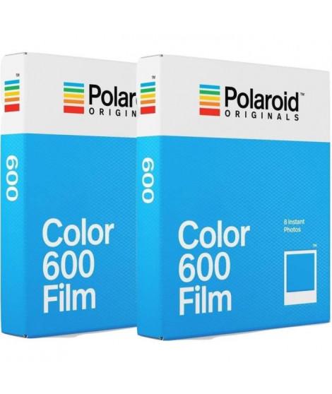 POLAROID ORIGINAL 4670 Film instantané couleur - Pour appareil photo i-type, 600 et One step Pack de 2