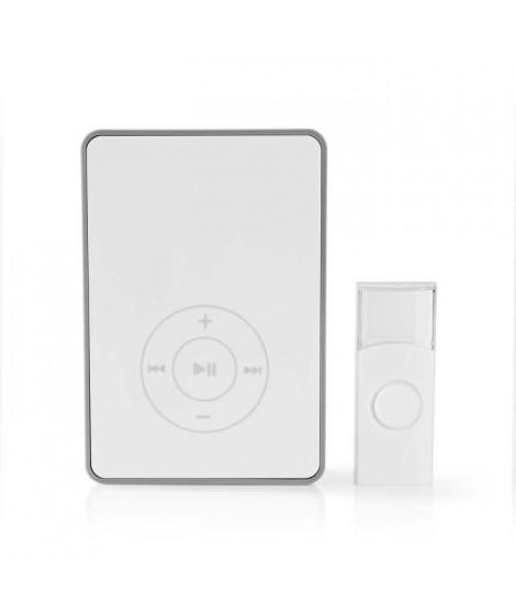 NEDIS Kit pour sonnette sans fil - Alimentation par pile - Fonction MP3