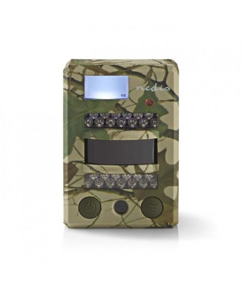 NEDIS Caméra camouflage nature - 8 mégapixels - Angle de Vue de 100° - Détection de mouvement 15 m