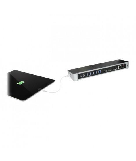 STARTECH.COM Station d'accueil USB 3.0 triple affichage - Pour ordinateur portable - 4K