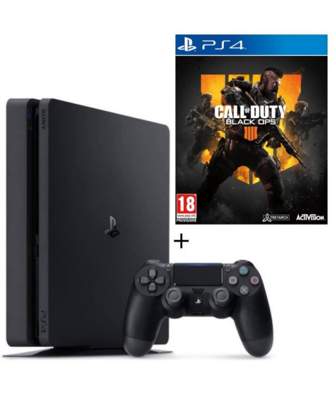 Pack PS4 500 Go + Call of Duty Black Ops 4