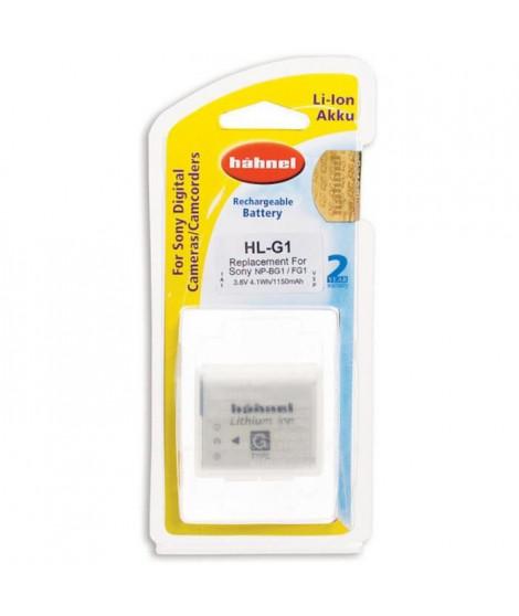 HAHNEL HLG1 Batterie li-ion conçue pour les appareils photo numériques Sony utilisant une batterie NP-BG1/FG1