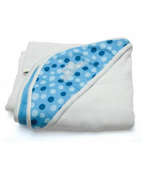 BABY TO LOVE Serviette papillon - Bébé garçon - Blanc et bleu