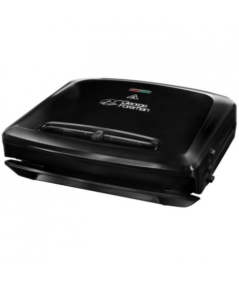 GEORGE FOREMAN Grill Entertaining 24340-56 - Plaques amovibles - 1500 W - Rouge
