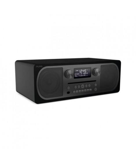 PURE 151082 Radio CD Bluetooth Evoque CD 6 siena - Puissance 20 watts rms - Noir