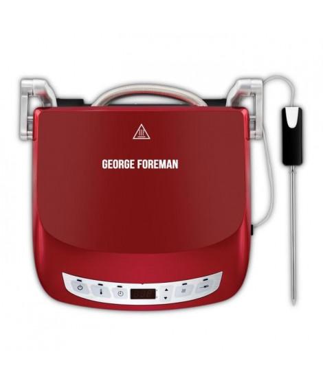 GEORGE FOREMAN Grill Evolve Precision 24001-56 - Ecran digital - 1440 W - Rouge
