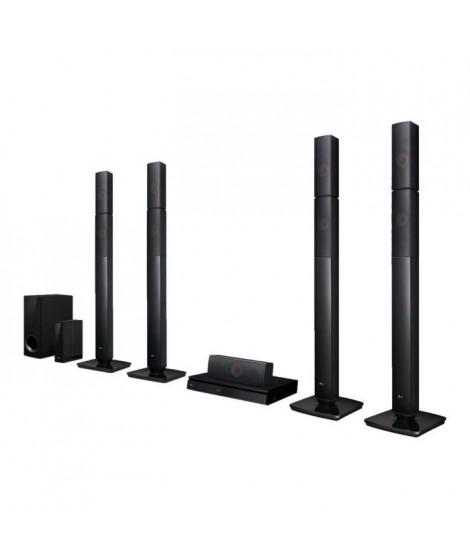 LG LHB655N Home Cinéma 5.1 - Lecteur Blu-ray - Bluetooth - DLNA - Noir