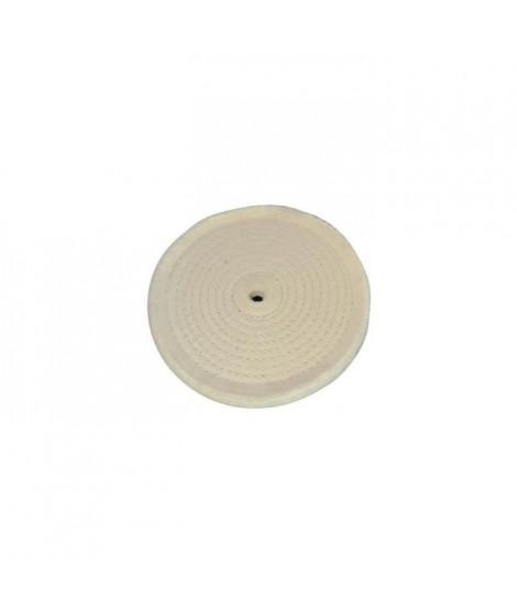 SILVERLINE Disque de polissage avec couture en spirale - Beige