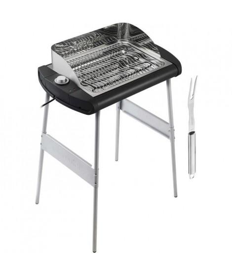 """LAGRANGE 319005 Barbecue """"Pavillon"""" - 2300 W - Large grille de cuisson : 40 x 28 cm"""