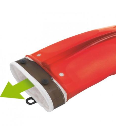 MASTRAD F82315 Gant - Silicone et textile - Rouge transparent