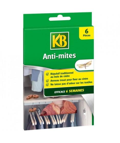 KB 6 Anti-Mites Répulsif au Cedre