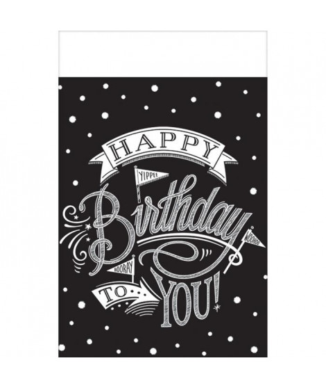 AMSCAN Nappe plastifiée Hooray It's Your Birthday 137 x 259 cm
