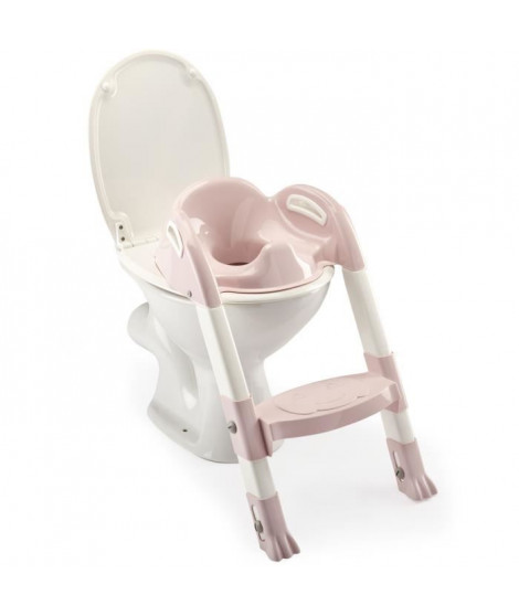 THERMOBABY Reducteur de wc kiddyloo - Rose poudré