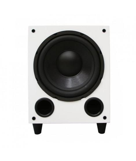 DAVIS ACOUSTICS Basson 77 Caisson de grave audio - Puissance max 600 W - Blanc