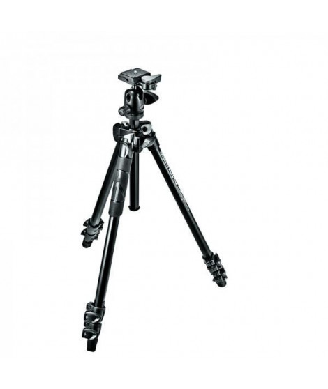 MANFROTTO MK290LTA3BH kit Trépieds 290 Light - Aluminium avec rotule ball - Noir